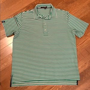 Exc Polo Ralph Lauren Golf RLX Mens Large Shirt